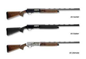 Models-of-self-loading- semi-automatic-shotguns