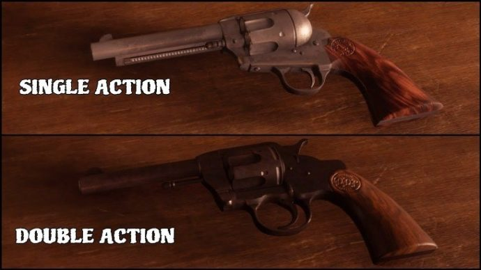 Single-action-and-double-action-gunshot
