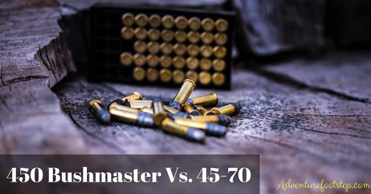 450 Bushmaster Vs  45-70: Which One is Better? [Real Testing