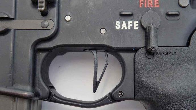 AR-flat trigger
