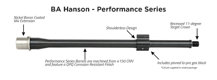 The useful features of BA Hanson Barrel