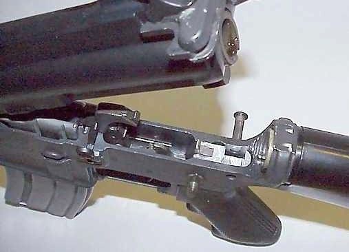convert your semi-automatic rifle into an automatic one